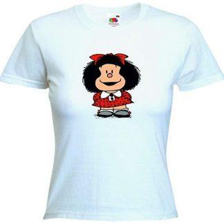 Camiseta mujer blanca Mafalda