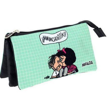 Estuche triple de Mafalda