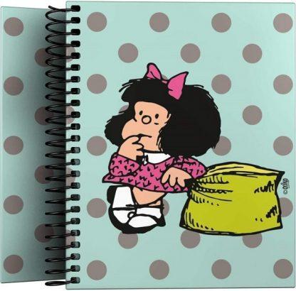 Cuaderno pequeño de Mafalda